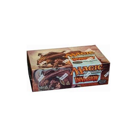 Boîte de 36 Boosters INVASION