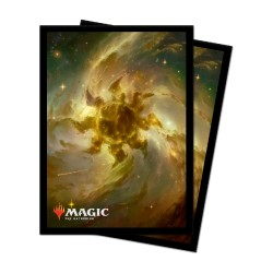 MTG : 100 Celestial Plains Standard Sleeves