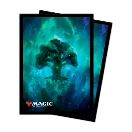 MTG : 100 Celestial Forest Standard Sleeves
