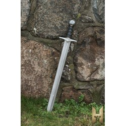 Arme Epée moyenne - Knightly Sword Steel 87 cm- Stronghold
