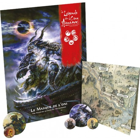 Masque de L'Oni - La Légende des Cinq Anneaux