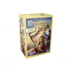 Carcassonne : Damoiselle et Dragon