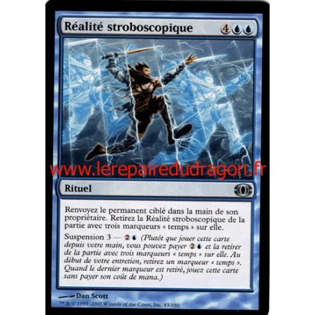 Bleue - Réalité Stroboscopique (U)