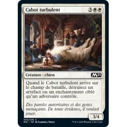 x4 French//vf Mtg magic m21 - rambunctious mutt//Cabot turbulent
