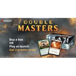 Double Masters VO/ VF Boite de Boosters + 2 Buy a box