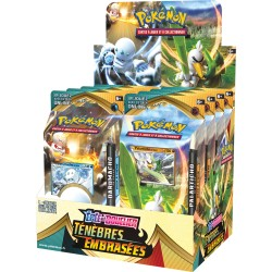 Lot des 2 Starters - Ténèbres Embrasées - Pokémon
