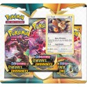 Pack 3 boosters + Evoli - Ténèbres Embrasées Pokemon