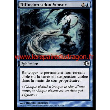 Bleue - Diffusion selon Venser (C)