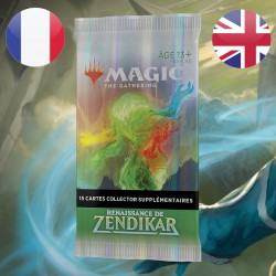 Collector Booster Draft Magic Renaissance de Zendikar (25/09/2020)