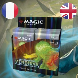 Boite de Collector Boosters Magic Renaissance de Zendikar (25/09/2020)