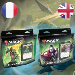 Lot des 2 decks Commander Magic Renaissance de Zendikar (25/09/2020)