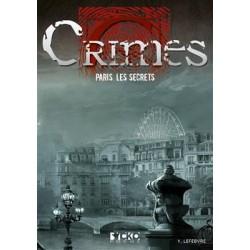 CRIMES : Paris, les secrets (poche)