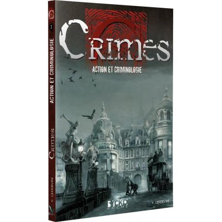 CRIMES : Action et Criminologie (poche)
