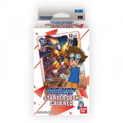 Starter Deck 1 Gaia Red (anglais) - DIGIMON CARD GAME :