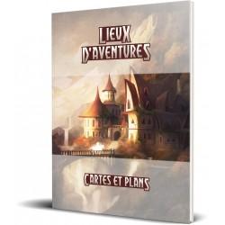 Lieux d'aventures : Pochette - Cartes et Plans