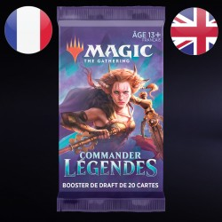 Booster Draft Commander Legendes - Magic The Gathering