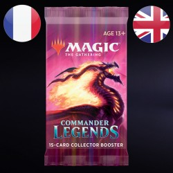 Collector Booster Commander Légendes - Magic The Gathering