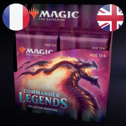 Boite de Boosters Collector Commander Légendes - Magic The Gathering (20/11/2020)