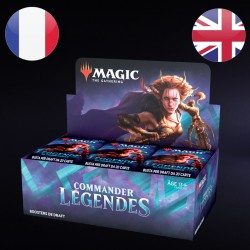 Boite de Boosters Draft Commander Legendes - Magic The Gathering