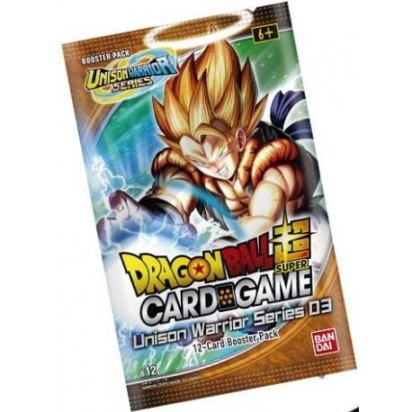 Booster Unison Warrior 3 - Dragon Ball Super Card Game (22/01/2021)