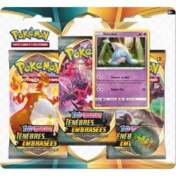 Pack 3 boosters + Pyroli - Ténèbres Embrasées Pokemon