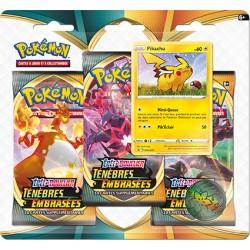 Pack 3 boosters + Pikachu - Pokémon Ténèbres Embrasées (17/10/2020)