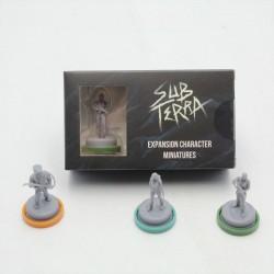 Sub Terra - Minis Personnages du Jeu de Base