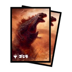 Paquet 100 Sleeves Godzilla Doom Inevitable (Taille Standard Magic)ves
