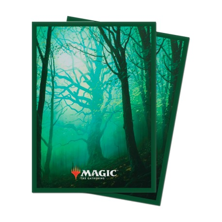 Paquet 100 Sleeves Unstable Forêt (Taille Standard Magic)