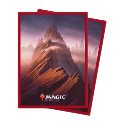 Paquet 100 Sleeves Unstable Montagne (Taille Standard Magic)