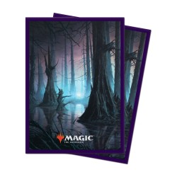 Paquet 100 Sleeves Unstable Marais (Taille Standard Magic)