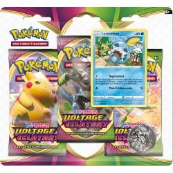 Pack 3 Boosters : Larméléon - Voltage Eclatant - Pokémon (13/11/2020)