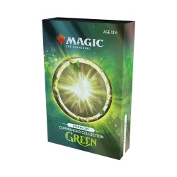 Commander Collection GREEN Premium FOIL (Anglais) - Magic The Gathering (4/12/2020)