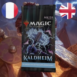 Booster COLLECTOR Kaldheim - Magic The Gathering (5/02/2021)