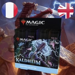 Boite de Boosters Collector Kaldheim + Buy A Box - Magic The Gathering (5/2/2021)