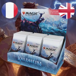 Boite de Boosters d'EXTENSION Kaldheim + Buy A Box - Magic The Gathering (5/2/2021)