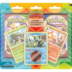 Pokémon : Pack 2 boosters Janvier 2021