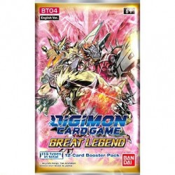 Booster Great Legend (anglais) - DIGIMON CARD GAME (mai 2021)