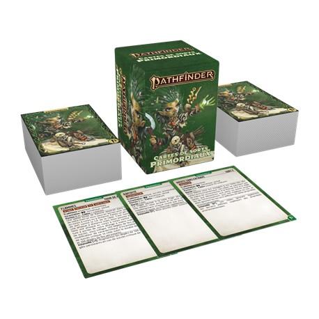 Cartes de Sorts Primordiaux - Pathfinder 2eme édition