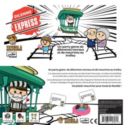 Dilemme Express - Le Jeu de Cartes