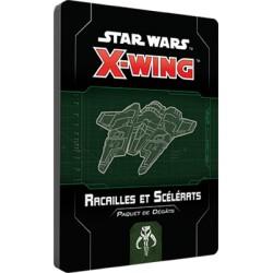 Paquet Dégâts Racailles et Scélérats - X-Wing 2.0