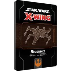 Paquet Dégâts Résistance - X-Wing 2.0