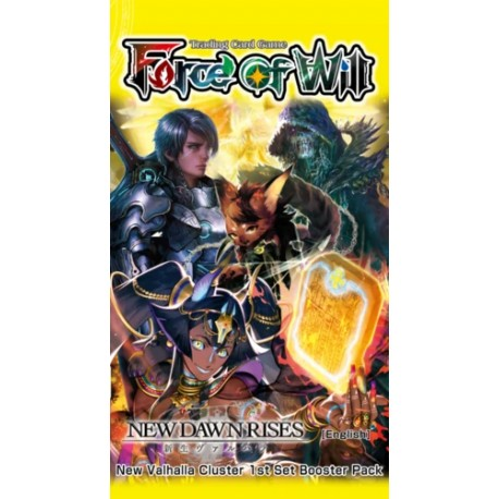 - V1 New Dawn Rises (Booster VO) Force of Will (28/09)