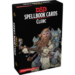 Cartes de sorts Clerc - Dungeons & Dragons 5edt