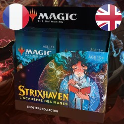 Boite de Boosters Collector Strixhaven - Magic The Gathering
