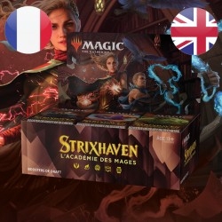 Boite de DRAFT Boosters Strixhaven - Magic The Gathering (23/04/2021)