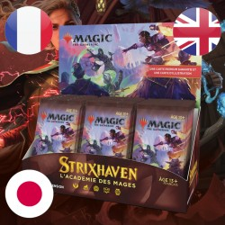 Boite Boosters d'EXTENSION Strixhaven + Buy a Box - Magic The Gathering (23/04/2021)