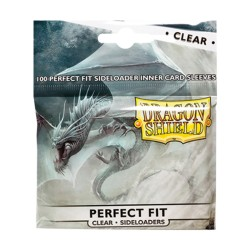Perfect Fit Sideloaders Standard US (x100) - Clear - Dragon Shield