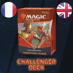 Aggro Mono-Rouge - Challenger Deck 2021 - Magic The Gathering