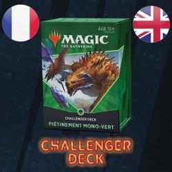 Piétinement Mono-Vert - Challenger Deck 2021 - Magic The Gathering
